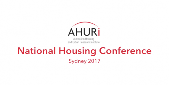 AHURI Conference Video